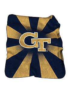 Logo Georgia Tech Yellow Jackets Raschel Throw