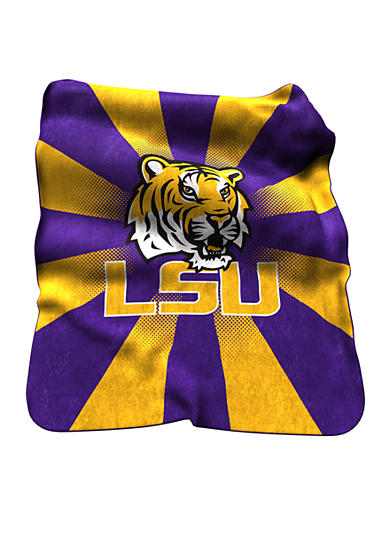 Logo LSU Tigers Raschel Throw