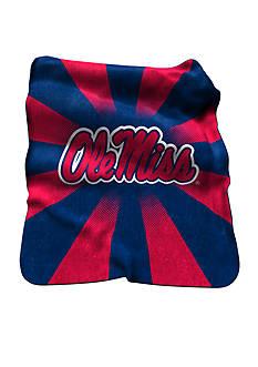 Logo Ole Miss Rebels Raschel Throw