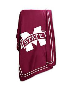 Logo Mississippi State Bulldogs Classic Fleece Blanket
