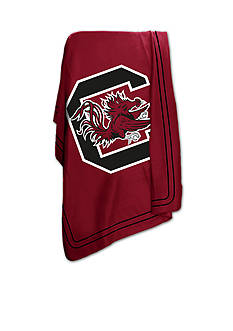 Logo University of South Carolina Gamecocks Classic Fleece Blanket