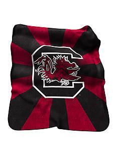 Logo South Carolina Gamecocks Raschel Throw