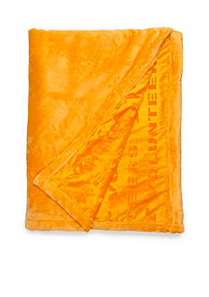 Logo University of Tennessee Volunteers Velvet Plush Blanket