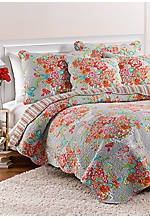 Blissful Bouquet Reversible King Quilt, 106-in. x 92-in.