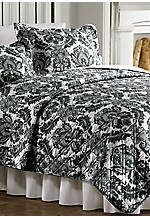 Hanson Black/White Standard Sham 20-in. x 26-in.