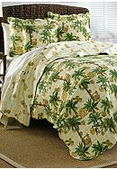 Ivy Hill Home Vintage Palms Quilt Collection