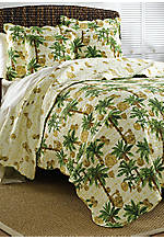Vintage Palms Palmetto Full/Queen Quilt 88-in. x 92-in.