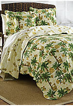 Vintage Palms Palmetto King Quilt 106-in. x 92-in.