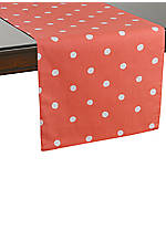 Charlotte Street Coral Table Runner 72-in. x 15-in.