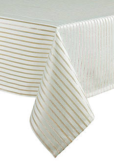 kate spade new york Harbour Drive Metallic Tablecloth 60-in. x 120-in.