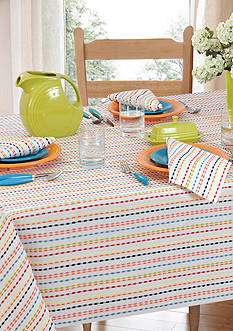 Fiesta® Ditsy Stripe Table Linen Collection