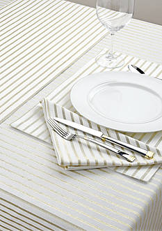 kate spade new york® Harbour Drive Metallic Table Linen Collection
