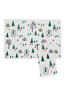 kate spade new york® Holiday Village Table Linen Collection