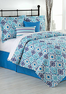 Home Accents® Wayside Reversible Bed-In-A-Bag Quilt