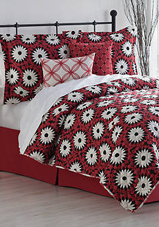 Home Accents Turnstyles Charlize Reversible 6-Piece Quilt Set