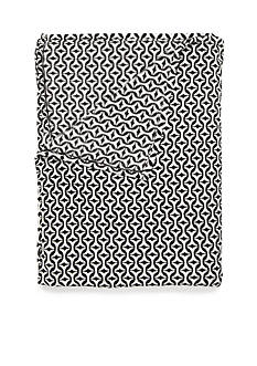 Home Accents PLUSH BLANKET GEO F/Q