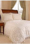 Beatrice Home Fashions Medallion Cotton Chenille