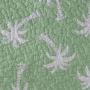 Coastal Bedroom: Green Panama Jack PJ P BCH KNG QLT MULTI