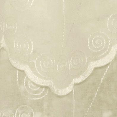 Window Valances: Cream Commonwealth Home Fashions HATHAWAY BLLN CRTN WHITE 63IN