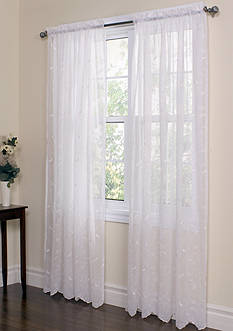Commonwealth Home Fashions HATHAWAY TLRD PNL WHITE 63IN