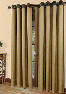 Commonwealth Home Fashions HARRISON GRMMT PNL TOASTED ALMOND 84IN