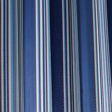 Commonwealth Home Fashions: Blue Commonwealth Home Fashions GAZEBO STRIPE OUTDR GRMMT PNL KHAKI 84IN