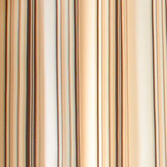 Patterned Curtains: Khaki Commonwealth Home Fashions GAZEBO STRIPE OUTDR GRMMT PNL KHAKI 84IN