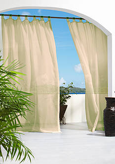 Commonwealth Home Fashions ESCAPE OUTDR HL TAB PNL TPE 96IN