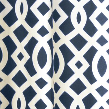Red Curtains: Navy Commonwealth Home Fashions TRELLIS GRMMT PNL PR BLK 63IN