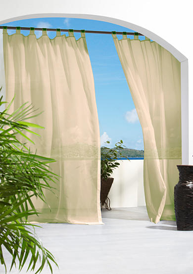 Commonwealth Home Fashions Escape Hook and Loop Outdoor Window Panel - Online Only