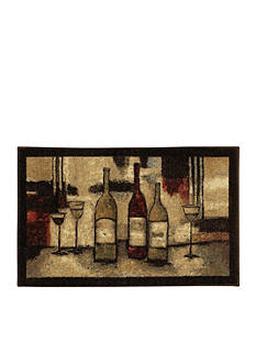 Mohawk Home WINE AND GLASSES PRINTED RUG (1'8X3'9)