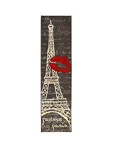 Mohawk Home Paris Love Eiffel Tower Urban Rug