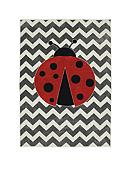 Mohawk Home Little Lady Bug Rug
