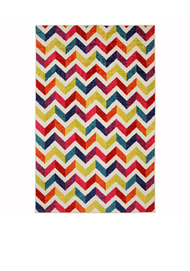 Mohawk Home Mixed Chevrons Prism Area Rug