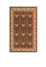 "Persian Garden Meadow Cocoa Area Rug 2'6"" x 8'"