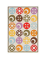 Lil Mo Dots Beige Area Rug 10' x 8'