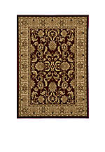 Royal Chateau Red Area Rug 2' x 3'3""