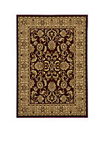 "Royal Chateau Red Area Rug 3'3"" x 5'"
