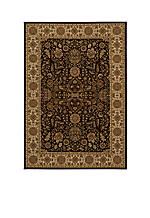 Royal Castle Brown Area Rug 2' x 3'3""