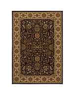 "Royal Castle Brown Area Rug 3'3"" x 5'0"""