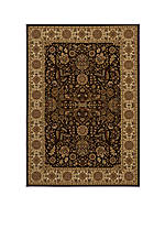 "Royal Castle Brown Area Rug 3'11"" x 5'7"""
