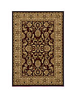 "Royal Chateau Red Area Rug 3'11"" x 5'7"""