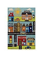 Lil Mo Town Area Rug 2' x 3'