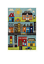 Lil Mo Town Area Rug 3' x 5'