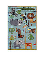 Lil Mo Jungle Area Rug 3' x 5'