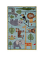 Lil Mo Jungle Area Rug 4' x 6'