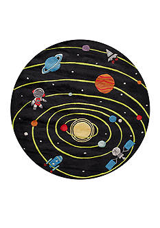 Momeni LIL MO OUTER SPACE RUG 5X5 BLACK