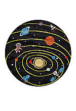 Lil Mo Outer Space Area Rug 5' x 5'