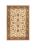 Persian Garden Heather Cocoa Area Rug 2' x 3'