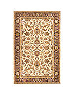 Persian Garden Heather Cocoa Area Rug 5' x 8'